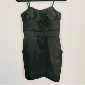 NWT BCBGeneration Black strapless mini dress size8